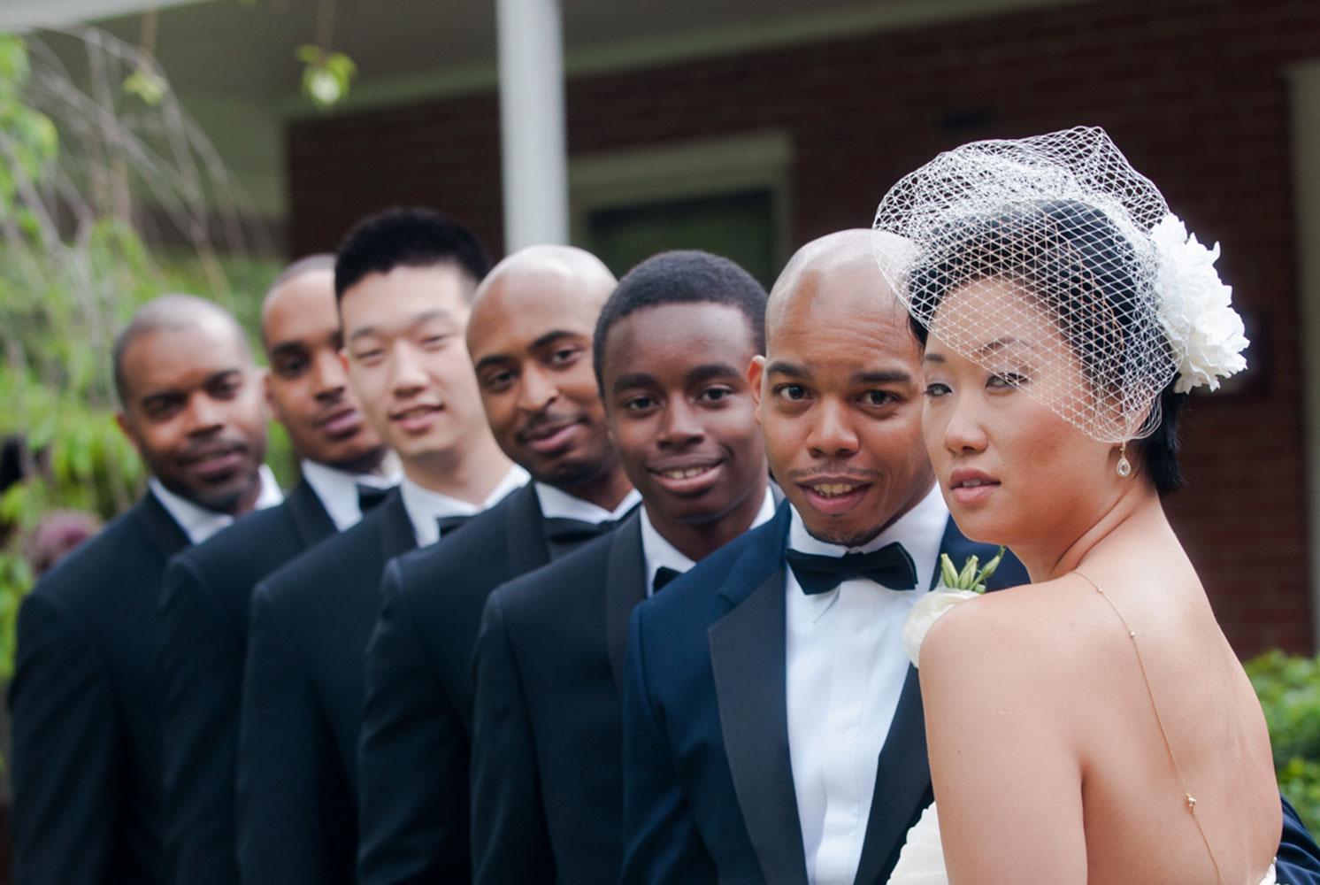 Reginald Warren Korean American Wedding Planner